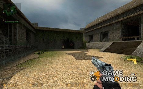 Tribal Deagle Player View Only for Counter-Strike Source