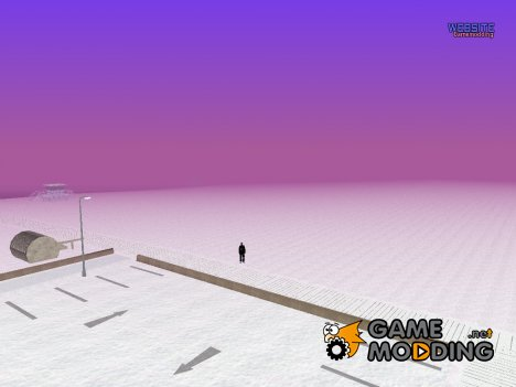 Фиолетовый таймцикл для GTA San Andreas