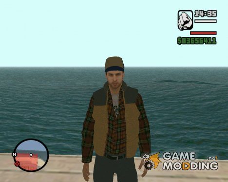 Big Rig Alex Shepherd Skin для GTA San Andreas