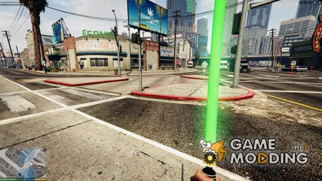 Star Wars Toy Light Saber for GTA 5