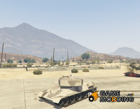 Т-34 custom for GTA 5
