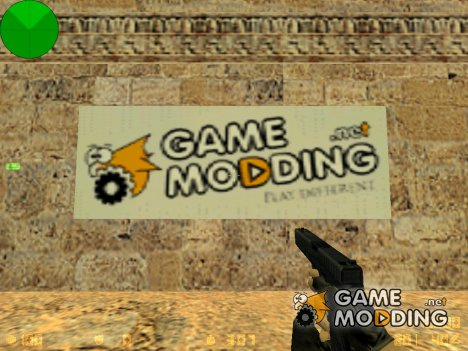 "Логотип ""GAMEMODDING.NET"" for Counter-Strike 1.6"