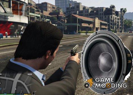 Новые звуки выстрелов оружия (BETA) for GTA 5
