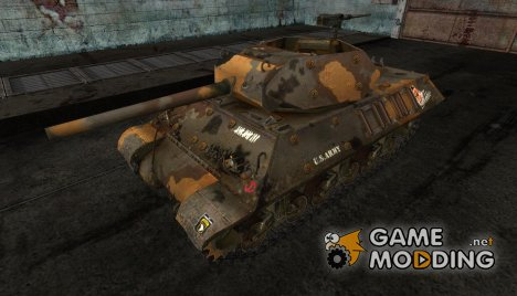 шкурка для M10 Wolverine для World of Tanks