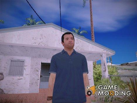 Michael V2 HD GTA V для GTA San Andreas