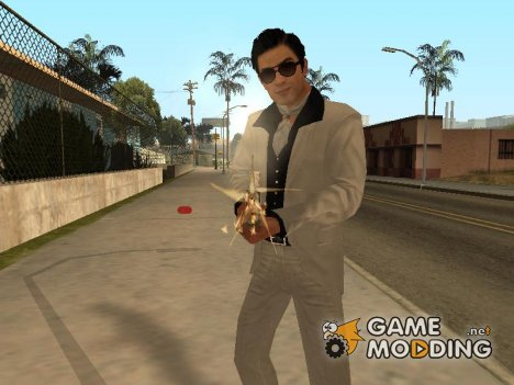 Vito's White and Black Vegas Suit from Mafia II для GTA San Andreas