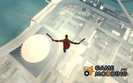 Спрыгнуть с Jet pack для GTA San Andreas