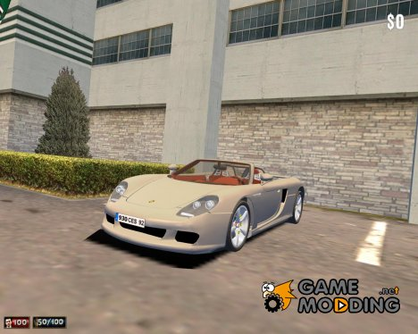 Porsche Carrera GT for Mafia: The City of Lost Heaven
