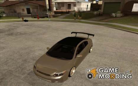 Toyota Scion tC Edited для GTA San Andreas
