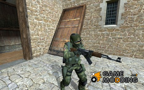 seal team 6 swamp for Counter-Strike Source