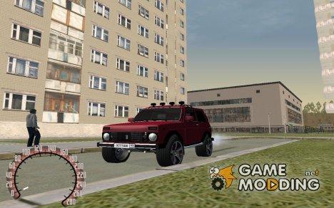 LADA NIVA 21213-зима for GTA San Andreas
