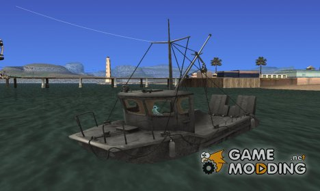 Firefly's Fishing Boat для GTA San Andreas