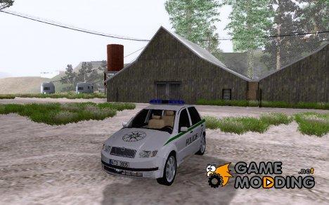 Skoda Fabia Policie CZ for GTA San Andreas