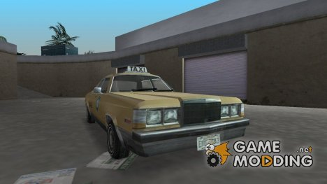 Flamingo Taxi из Driv3r for GTA Vice City