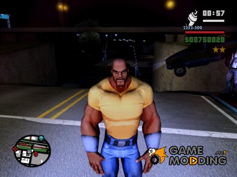 "Luge Cage ""Power Man"" для GTA San Andreas"