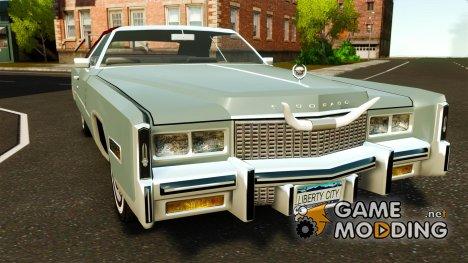Cadillac Eldorado Convertible 1976 для GTA 4