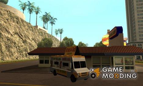 Taco van GTA V for GTA San Andreas