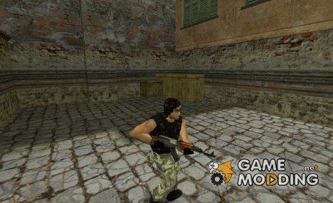 Snake Plissken for Guerilla для Counter-Strike 1.6