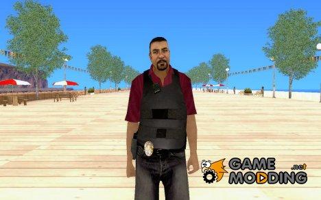 Скин на замену fbi для GTA San Andreas