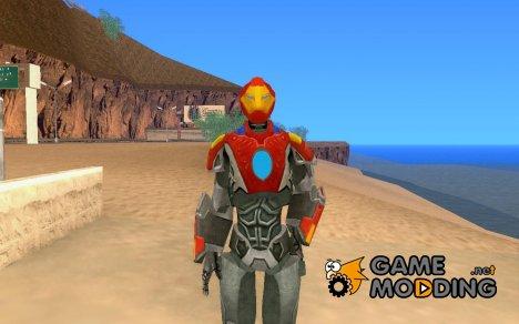 Iron man MARK 21 для GTA San Andreas