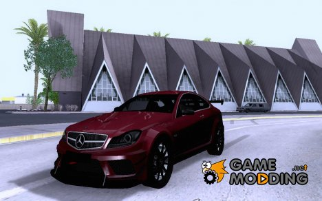 Mercedes-Benz C63 AMG 2012 Black Series for GTA San Andreas