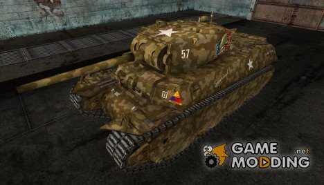 Шкурка для M6 for World of Tanks