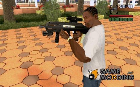 Замена старой mp5 для GTA San Andreas