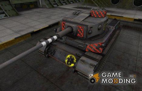 Контурные зоны пробития PzKpfw VI Tiger (P) для World of Tanks