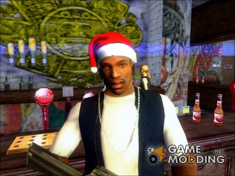 Рождественский колпак для GTA San Andreas