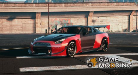 Nissan Skyline R35 RocketBunny for GTA 5