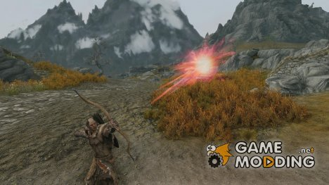 Chickenheart Arrows для TES V Skyrim