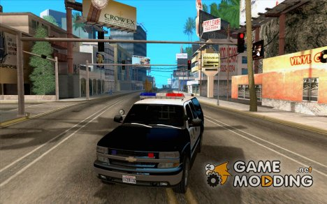 Chevrolet Suburban Los Angeles Police for GTA San Andreas