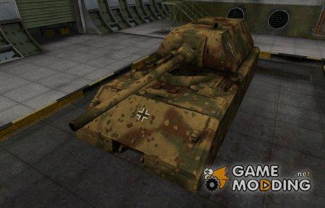 Немецкий скин для Maus для World of Tanks