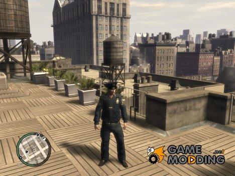 Нико полицейский for GTA 4