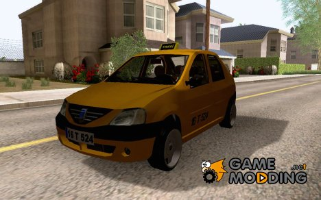 Dacia Logan Borbet Taksi for GTA San Andreas