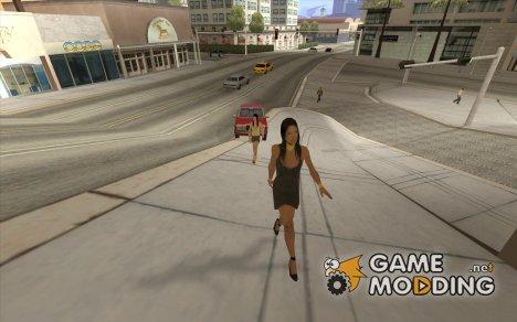 Новые девушки для GTA San Andreas