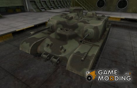 Пустынный скин для AT 7 for World of Tanks