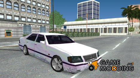 Mercedes Benz W140 S600 SA Style for GTA San Andreas