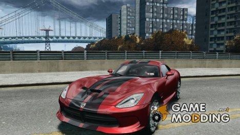 Dodge Viper GTS 2013 для GTA 4