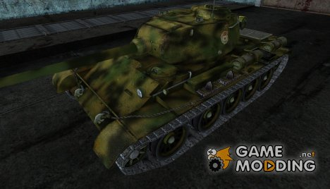 Шкурка для Т-44 для World of Tanks