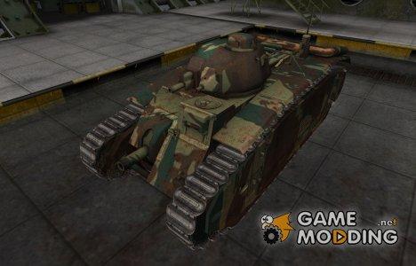 Французкий новый скин для B1 для World of Tanks