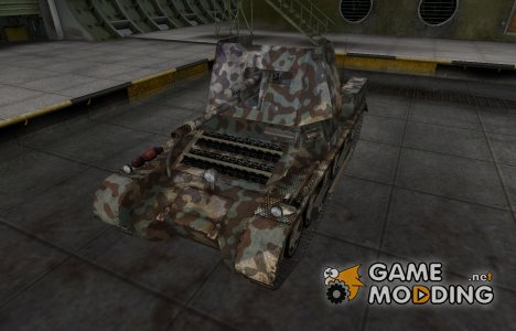 Горный камуфляж для Panzerjäger I for World of Tanks