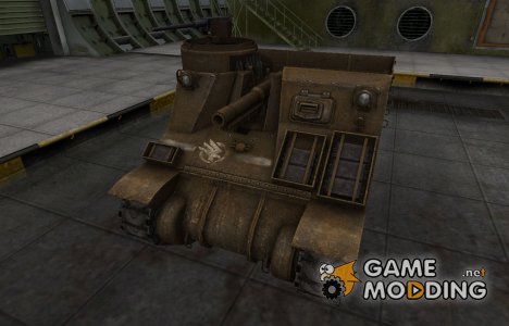 Скин в стиле C&C GDI для M7 Priest для World of Tanks