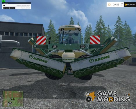 Krone Big M500 ATTACH V 1.0 для Farming Simulator 2015