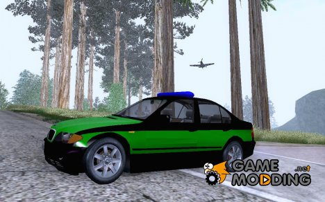 BMW 325i Polizei Beta for GTA San Andreas