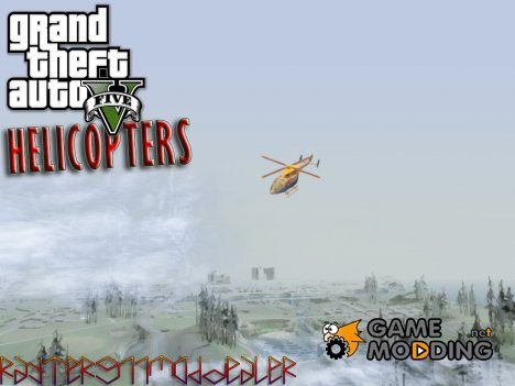 Heli pack from Grand Theft Auto V для GTA San Andreas