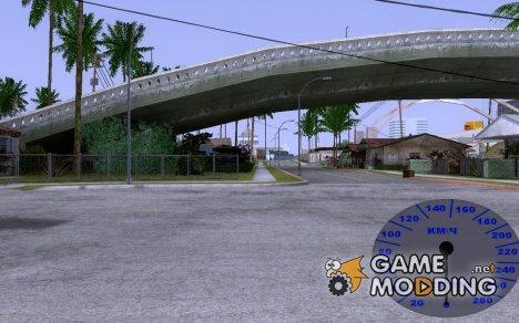 Простой спидометр по просьбе CJ Dron for GTA San Andreas
