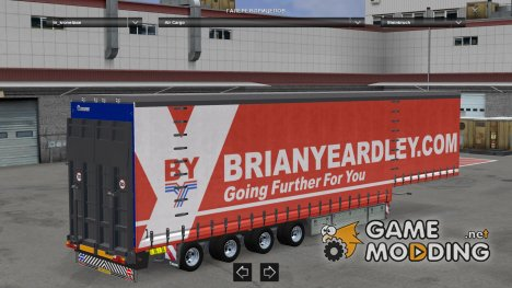 Krone Air Cargo Trailer v 1.22.4 for Euro Truck Simulator 2