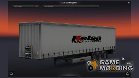 Kelsa Trailer для Euro Truck Simulator 2