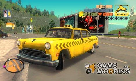 Cabbie из GTA VC for GTA 3